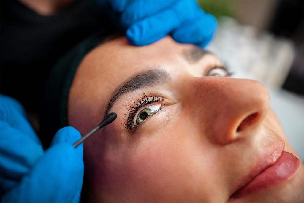 Procedura - lash lifting